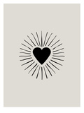 Heart Burst Poster by Brett Wilson