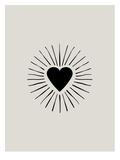 Heart Burst Poster av Brett Wilson