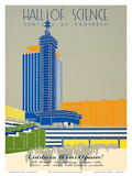 1934 Chicago World's Fair Hall of Science - Century of Progress Posters by  Pacifica Island Art