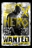 Batman vs. Superman- Batman Wanted Plakat