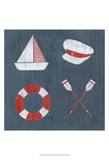 Nautical Quadrant II Art by Grace Popp