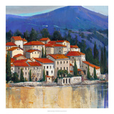 Italian Village II Art by Tim OToole