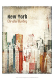 New York Grunge IV Prints by Irena Orlov
