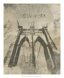 Remembering New York Giclee Print by Irena Orlov