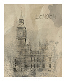 Remembering London Giclee Print by Irena Orlov