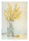 Yellow Spray in Vase II Posters par Tim OToole