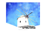 Santorini II Posters by Sylvia Coomes