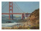 Baker's Beach Giclee Print by Chuck Larivey
