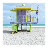 Miami Beach VIII Prints by Richard Silver
