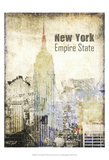 New York Grunge II Prints by Irena Orlov