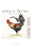 Dans la Ferme III Prints by  Redstreake