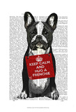 Hug a Frenchie Posters by Fab Funky