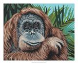 Jungle Monkey I Posters by Carolee Vitaletti