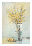 Yellow Spray in Vase I Art by Tim OToole
