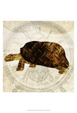 Steam Punk Turtle I Posters van Pam Ilosky
