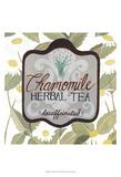 Tea Label IV Kunstdruck von Grace Popp