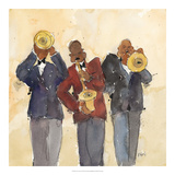 Jazz Trio I Art by Samuel Dixon