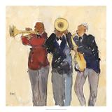 Jazz Trio II Posters by Samuel Dixon