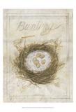 Nest - Bunting Posters par Elissa Della-piana