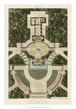 Plan De La Villa Pia Giclee Print by  Bonnard