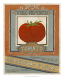 Vintage Produce Sign I Posters by June Vess