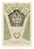 Plan Du Palais De Caprarola Giclee Print by  Bonnard
