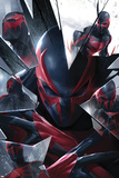 Spider-Man 2099 No. 5 Cover Cartel de plástico por Francesco Mattina
