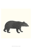 Timber Animals V Posters by Anna Hambly