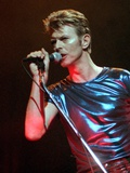 David Bowie, 1995 Photographic Print by Bob Child