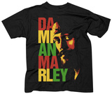 Damian Marley- Stacked Logo Shirts