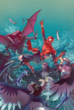 Jamal Campbell - Amazing Spider-Man Special No. 1 Cover Plastové cedule