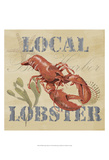 Wild Caught Lobster Prints by Jade Reynolds