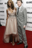 Iman and David Bowie at 2006 Glamour Women of the Year Awards, New York, 2006 Photographic Print by Seth Wenig