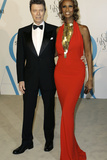 David Bowie and Iman at CFDA Fashion Awards, New York, 2007 Photographic Print by Stuart Ramson