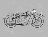 Mechanics I Giclée-tryk af Justin Lloyd