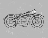 Mechanics I Giclee Print by Justin Lloyd
