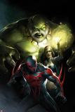 Francesco Mattina - Spider-Man 2099 No. 10 Cover, Featuring: Maestro, Strange, Spider-Man 2099 Plastové cedule