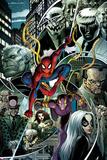 The Amazing Spider-Man No. 16.1 Cover, Featuring: Spider-Man, Tombstone, Hammerhead and More Znaki plastikowe autor Arthur Adams