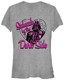 Juniors: Star Wars- Dark Side Seduction T-shirts