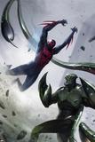 Francesco Mattina - Spider-Man 2099 No. 4 Cover, Featuring: Spider-Man 2099, Scorpion Plastové cedule