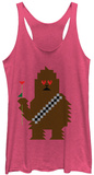 Juniors Tank Top: Star Wars- Wookie Love T-Shirt