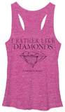 Juniors Tank Top: Downton Abbey- Like Diamonds T-shirts