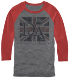 Downton Abbey- Union Jack Flag (Raglan) T-shirts