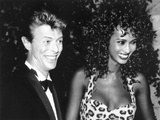 David Bowie with Iman, 1991 Photographic Print