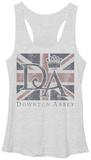 Juniors Tank Top: Downton Abbey- Union Jack Flag T-Shirt