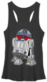 Juniors Tank Top: Star Wars- Dapper R2-D2 Shirt