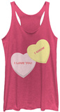Juniors Tank Top: Valentines- Candy Wars T-Shirts