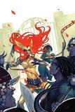 Stephanie Hans - Angela: Asgards Assassin No. 2 Cover Plastové cedule