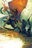 Stepanie Hans - Angela: Asgards Assassin No. 3 Cover Plastové cedule