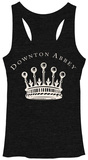 Juniors Tank Top: Downton Abbey- Crown T-shirts